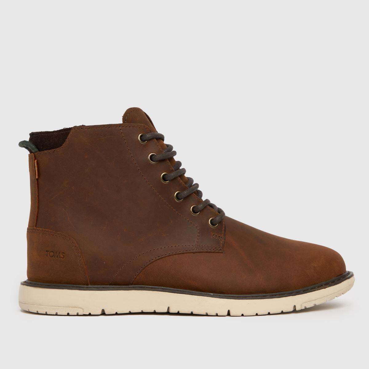TOMS Brown Hillside Boots