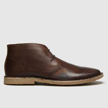 schuh Brown Grant Desert Mens Boots