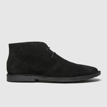 schuh Black Grant Desert Mens Boots