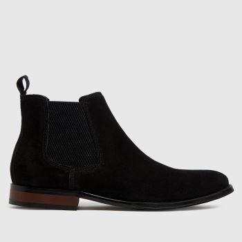 schuh Black Damien Suede Chelsea Boots