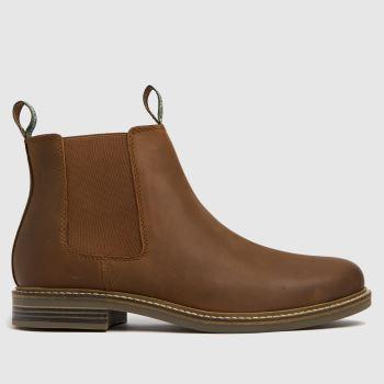 Barbour Tan Farsley Mens Boots