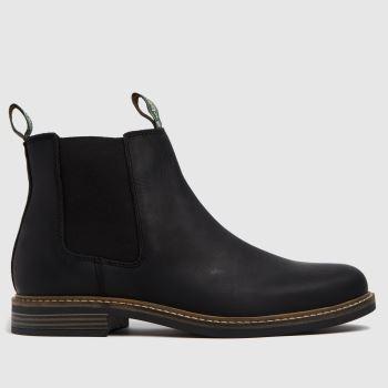 Barbour Black Farsley Mens Boots