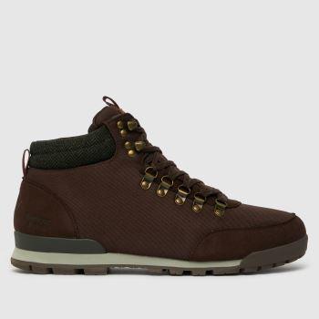Barbour Dark Brown Heddon Boot Wp Mens Boots