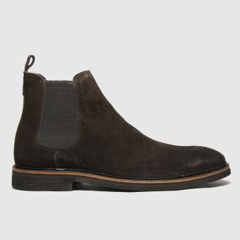 schuh Brown Drew Chelsea Mens Boots
