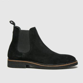 schuh Black Drew Chelsea Mens Boots