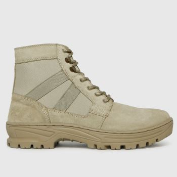 schuh Natural Chase Suede Hiker Mens Boots