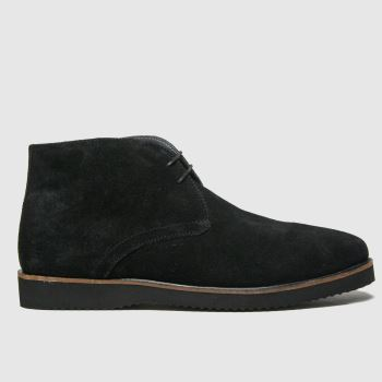 schuh Black Griffin Chukka Mens Boots