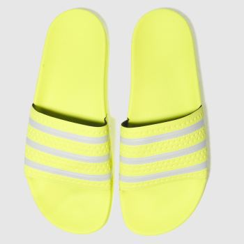 e6ec9b060 mens lime adidas adilette slide sandals