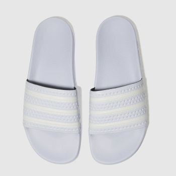 Adidas Pale Blue Adilette Mens Sandals