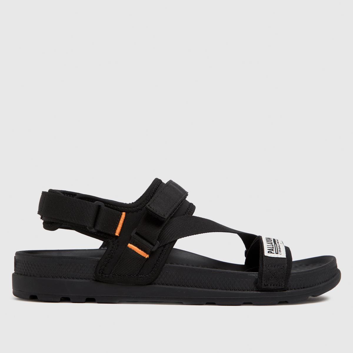 Palladium Black Solea St 2.0 Sandals