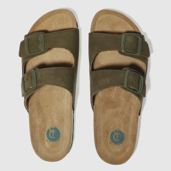 Red Or Dead Khaki Mr Randel Mens Sandals