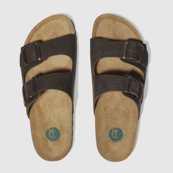 Red Or Dead Brown Mr Randel Mens Sandals