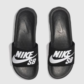 Nike Sb Black Benassi Solarsoft Mens Sandals