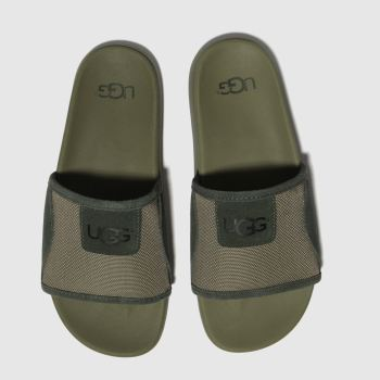 Ugg Green Xavier Ballistic Slide Mens Sandals