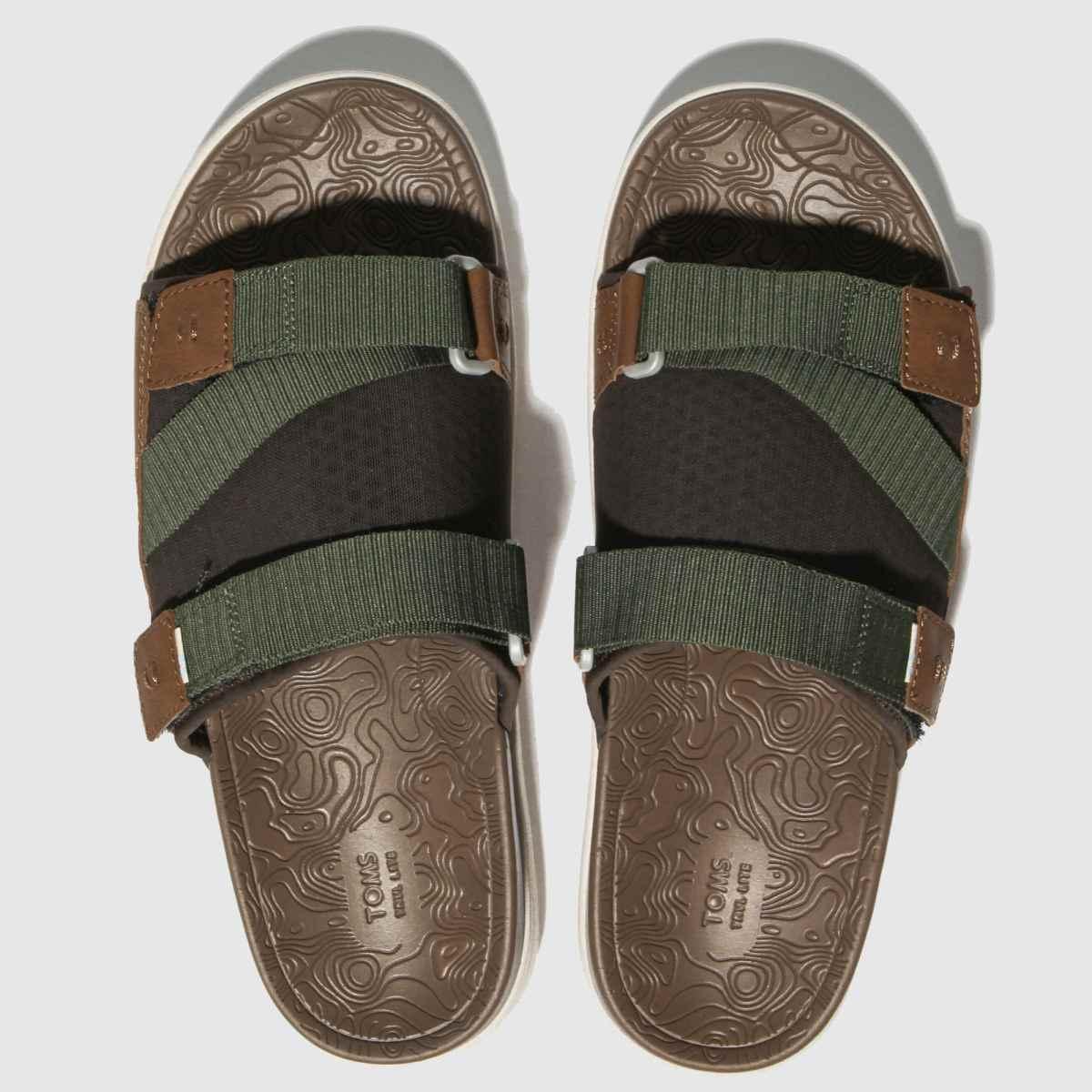 Toms Khaki Trvl Lite Sandals