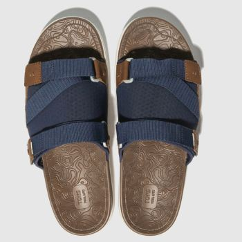 5452ec6293e Toms Navy Trvl Lite Mens Sandals