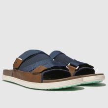 7978111398f mens navy toms trvl lite sandals