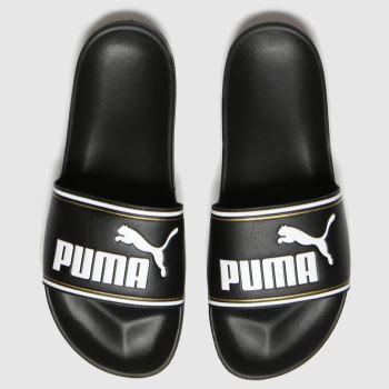 PUMA Black Leadcat Ftr Mens Sandals