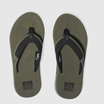Reef Khaki Fanning Low Mens Sandals