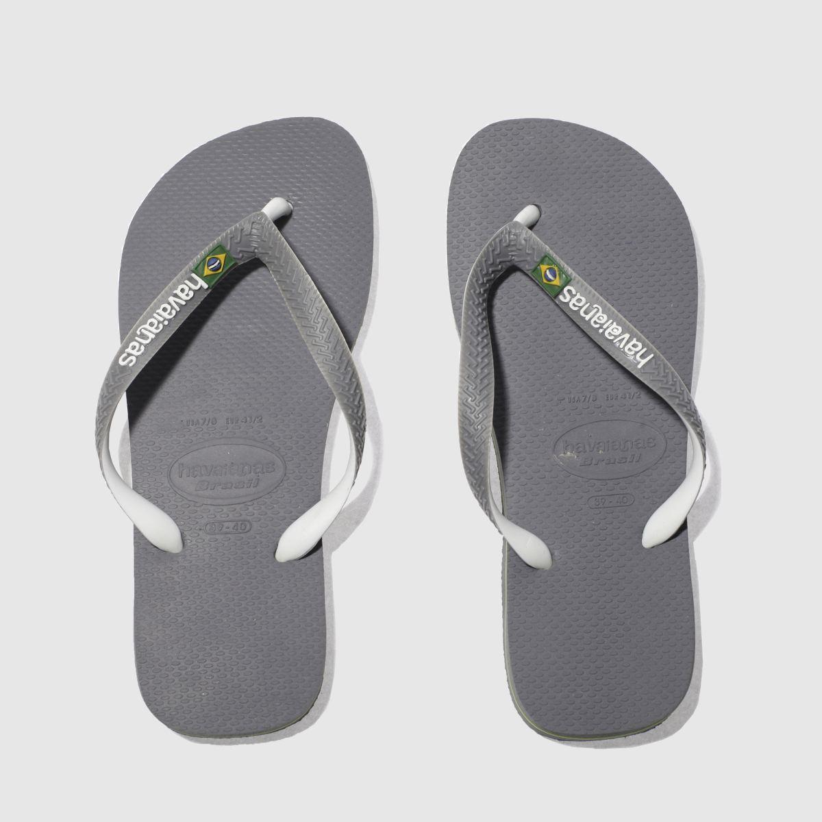 Havaianas Grey Brasil Mix Sandals