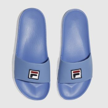 Fila Blue F-Box Slider Mens Sandals
