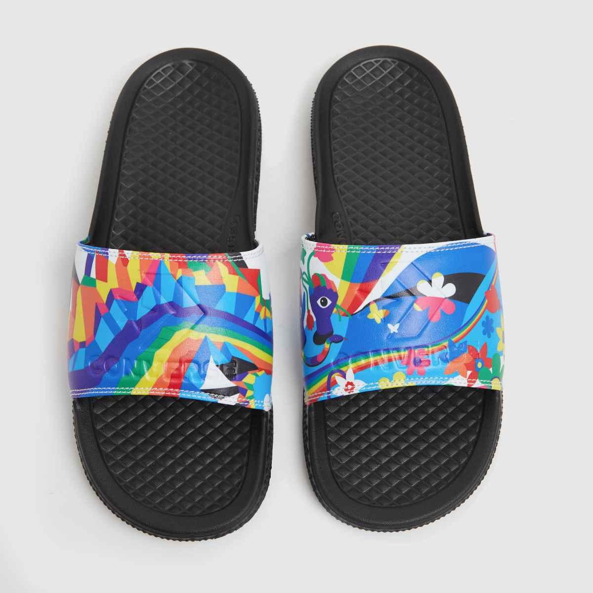 Converse Multi Pride Slide Sandals