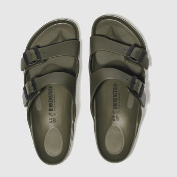 Birkenstock Khaki Arizona Eva Mens Sandals