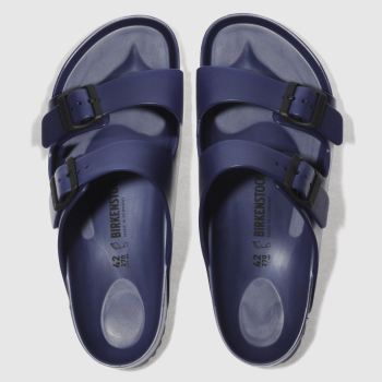 Birkenstock Navy Arizona Eva Mens Sandals