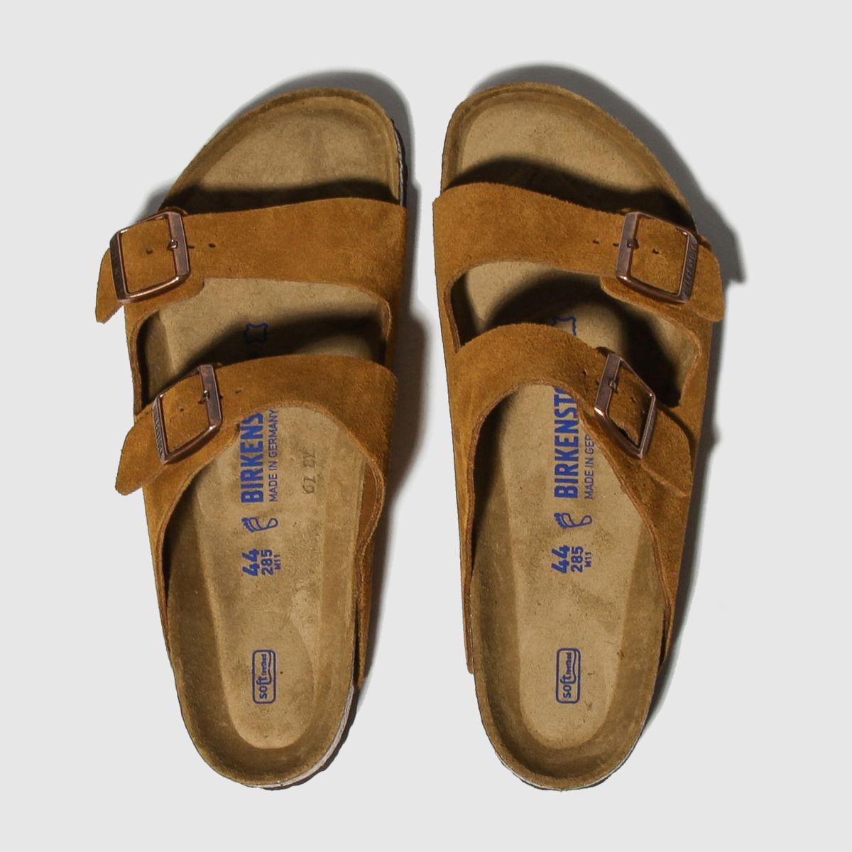 Birkenstock Tan Arizona Sfb Sandals