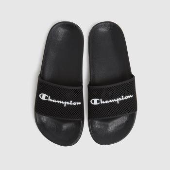 Champion Black & White Daytona Mens Sandals