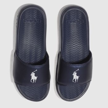 size 40 86be0 947a4 Polo Ralph Lauren Navy Rodwell Mens Sandals