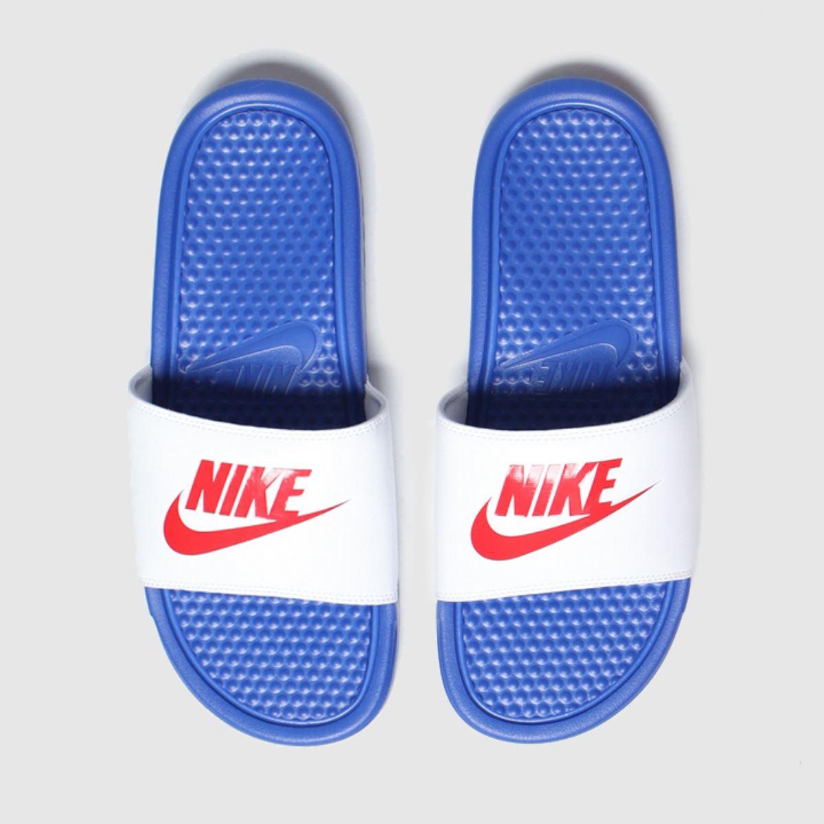 Nike Blue Benassi Jdi Sandals