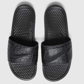 Nike Black Benassi Mens Sandals