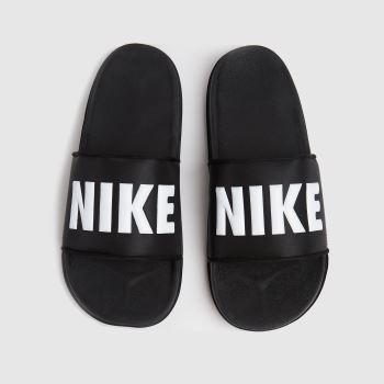 Nike Schwarz-Weiß Off Court Herren Sandalen