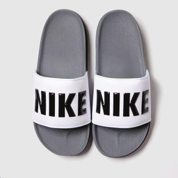 Nike Dark Grey Off Court Mens Sandals#