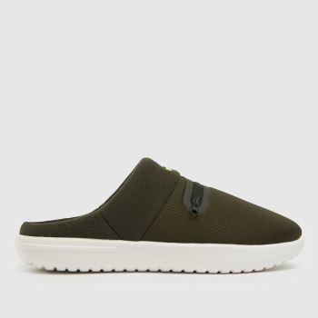 Nike Dark Green Burrow Mens Sandals