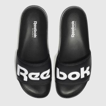 Reebok Black Classic Slide Mens Sandals