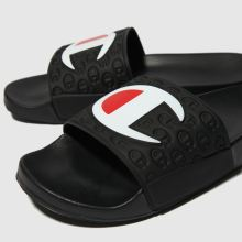 87622dd199c66 mens black champion multi lido slide sandals