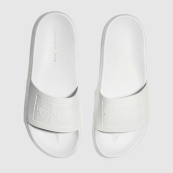 Calvin Klein White Jeans Vincenzo Mens Sandals