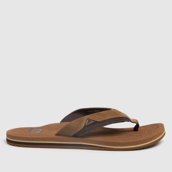 Reef Brown Cushion Dawn Mens Sandals