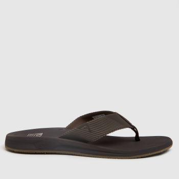 Reef Dark Brown Phantom Ii Mens Sandals