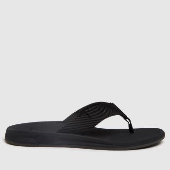 Reef Black Phantom Ii Mens Sandals