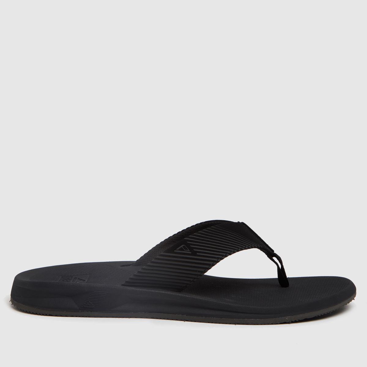 Reef Black Phantom Ii Sandals