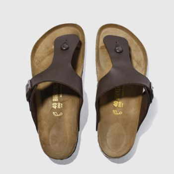 48ca265e5 Birkenstock Brown Ramses Mens Sandals
