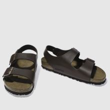 837c989d0b60b8 mens brown birkenstock milano sandals