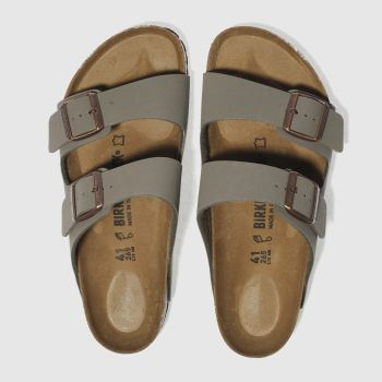 Birkenstock Khaki  Arizona Mens Sandals#