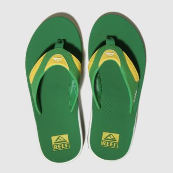 Reef Green Fanning Mens Sandals