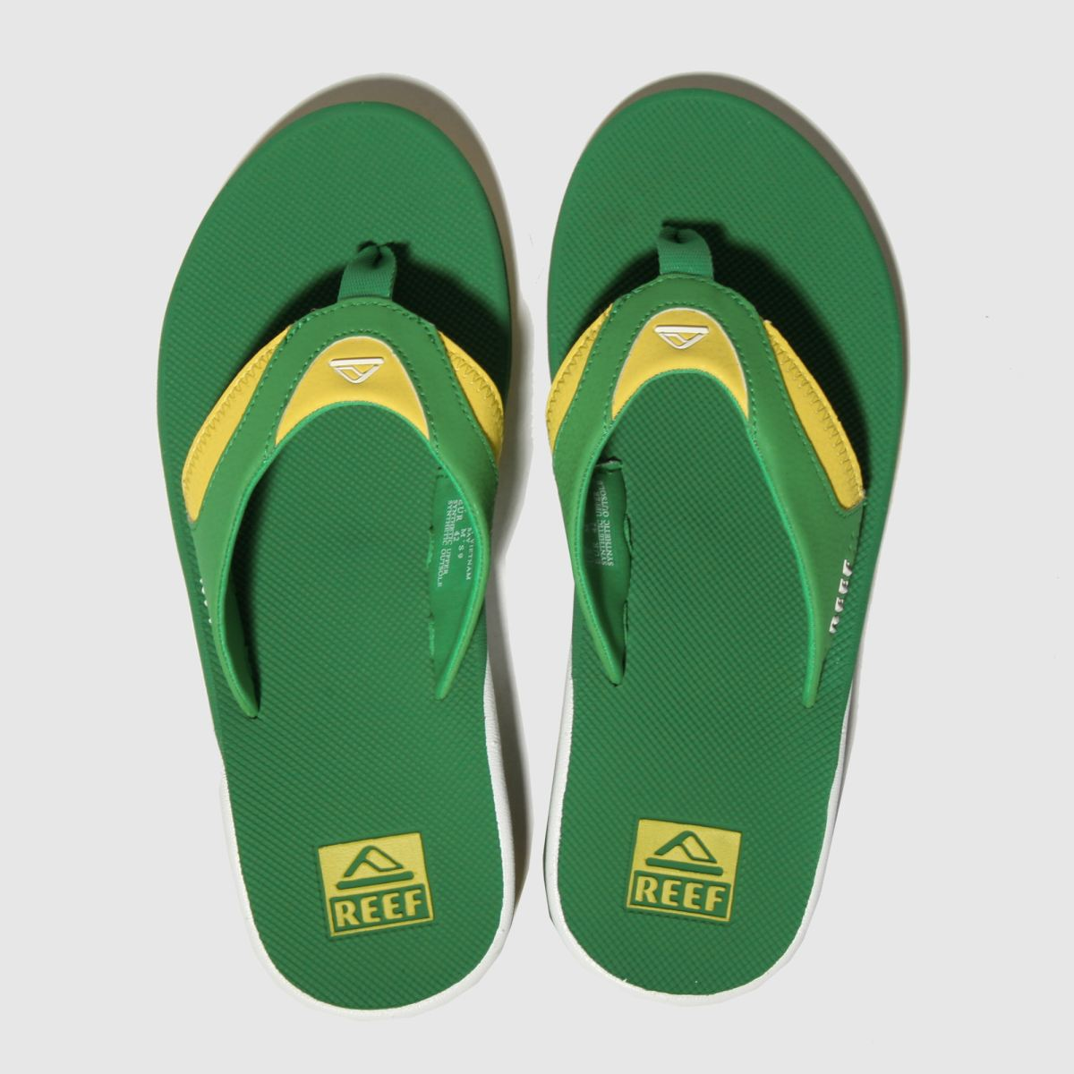 Reef Green Fanning Sandals