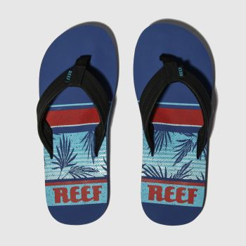 Reef Blau Waters Herren Sandalen