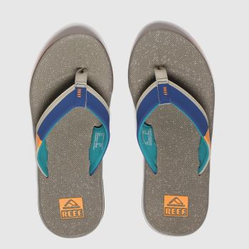 Reef Stone Fanning Low c2namevalue::Mens Sandals